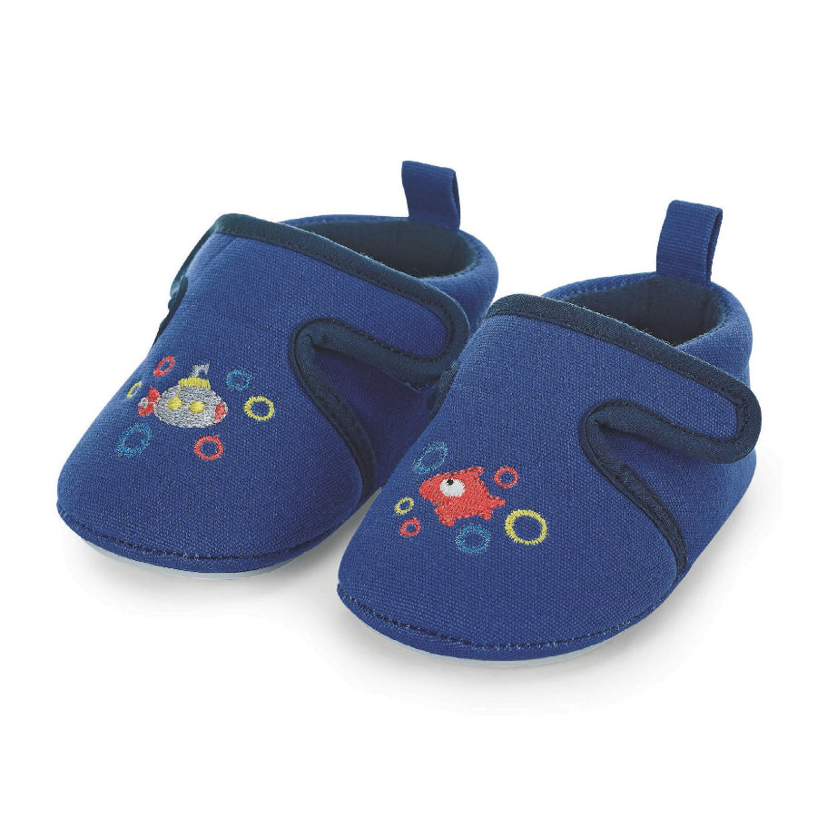 Sterntaler Babysko blå