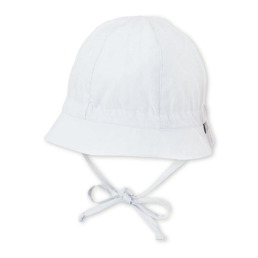 Sterntaler Chapeau bob enfant coton blanc