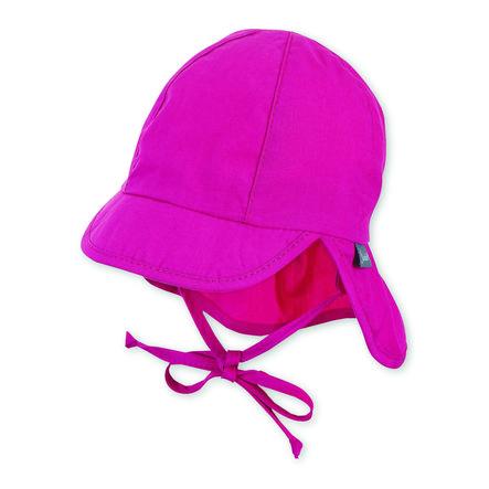 Sterntaler Peaked cap s purpurovou ochranou krku