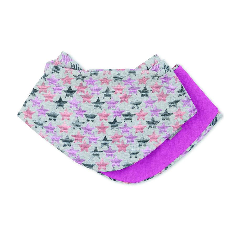 Sterntaler Girls trekantet tørklæde lyserødt