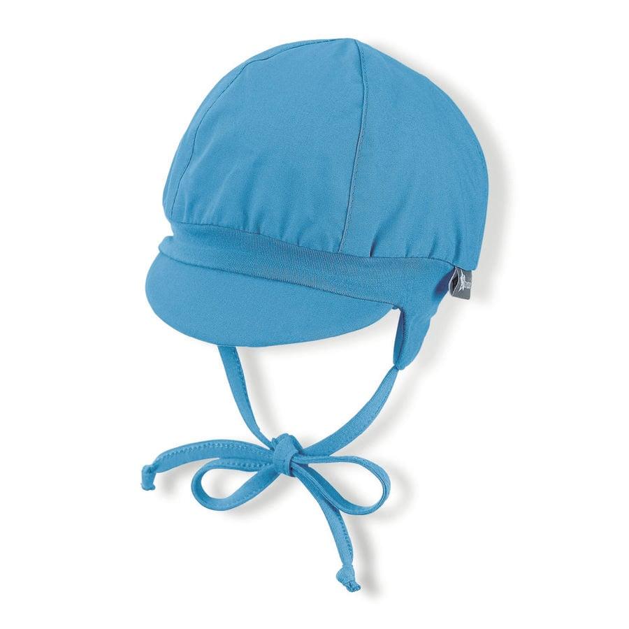 Čepice Sterntaler Balloon sametově modrá