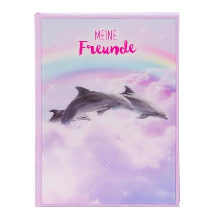 goldbuch Freundebuch A5 - 3D Delfine