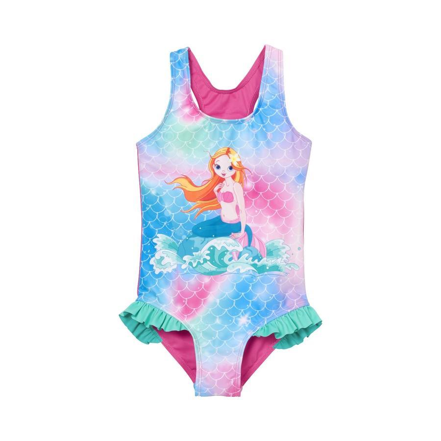 Playshoes  Sirena de traje de baño con protección UV