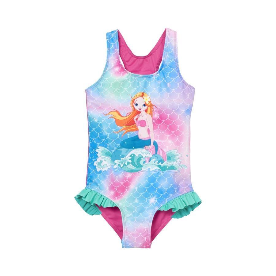 Playshoes  Sirena in costume da bagno con protezione UV