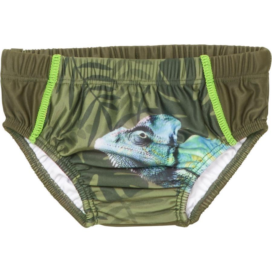 Playshoes  Pantalones de baño con pañales con protección UV Camaleón