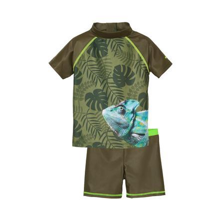 Playshoes UV-beskyttelsesbadsæt Chameleon