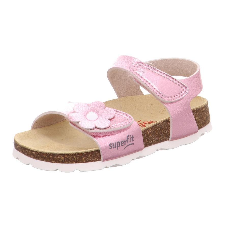 superfit Fußbettsandale rosa