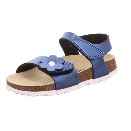 superfit Fußbettsandale blau