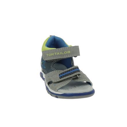TOM TAILOR Sandaler grå-marineblå kalk
