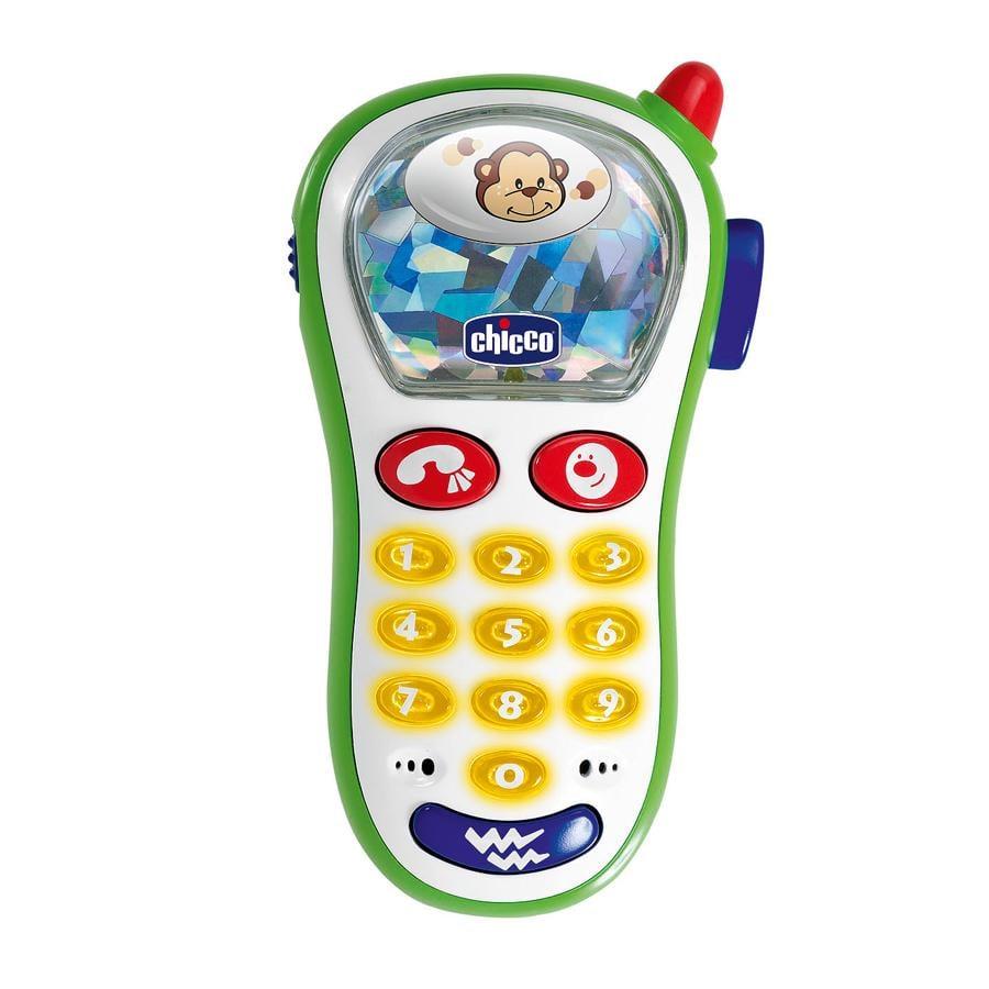 CHICCO Baby`s mobiltelefon m. fotokamera