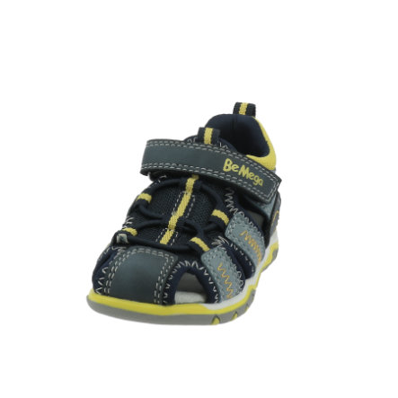 Be Mega Sandale navy-sky/neon-yellow