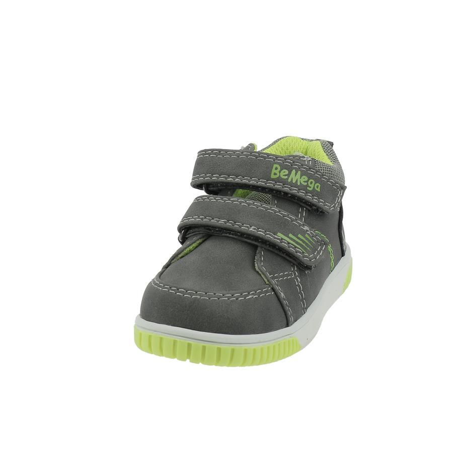 Be Mega Chaussures basses enfant scratch coal-lime