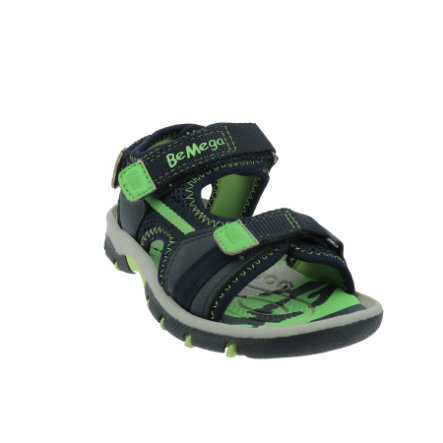 Be Mega Sandale navy-lime
