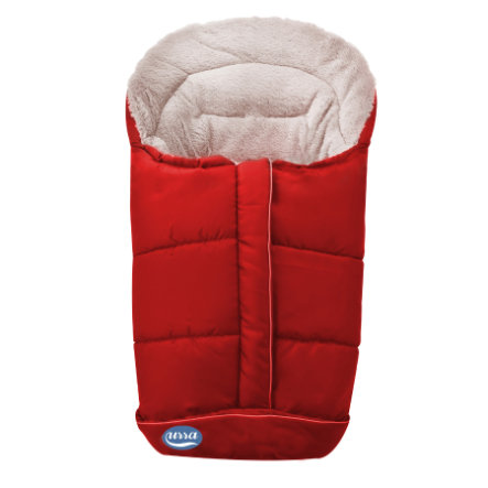 URRA Footmuff Romer Standard small red/beige