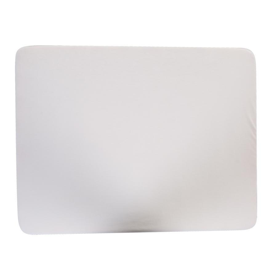 CHILDHOME Bezug für Laufgittermatratze weiß 75 x 95 cm