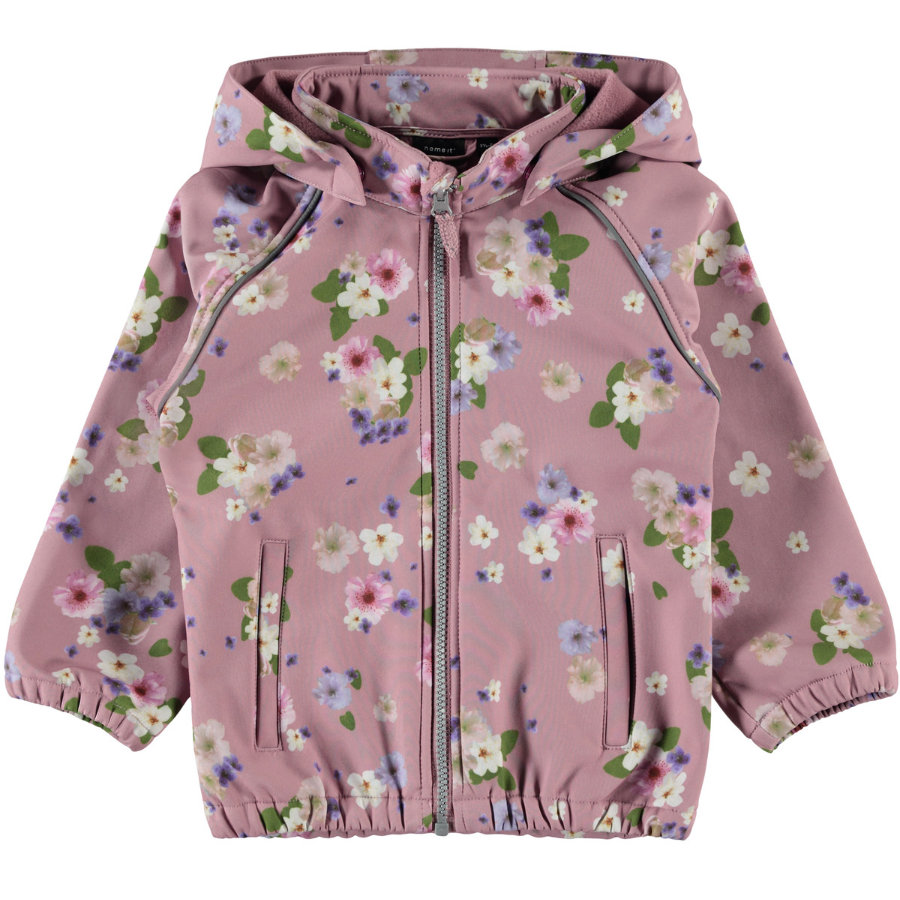 name it Girls Jacket Nmfalfa blomma nostalgi rose