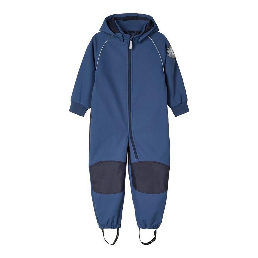 name it Girls Soft shell suit Nmmmalta dark denim