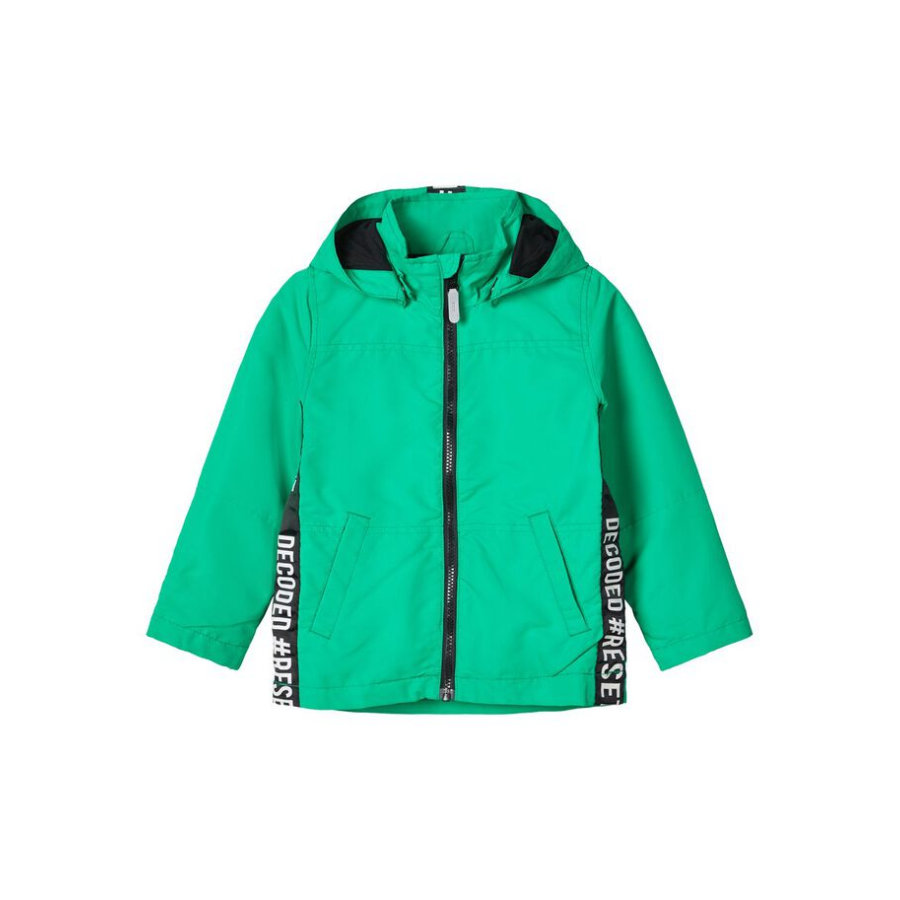 name it Boys Jacket Nmmmax b rätt grön