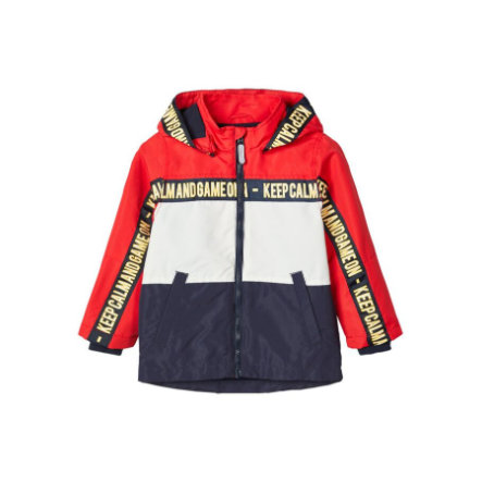 name it Boys Jacke Nmmmax high risk red