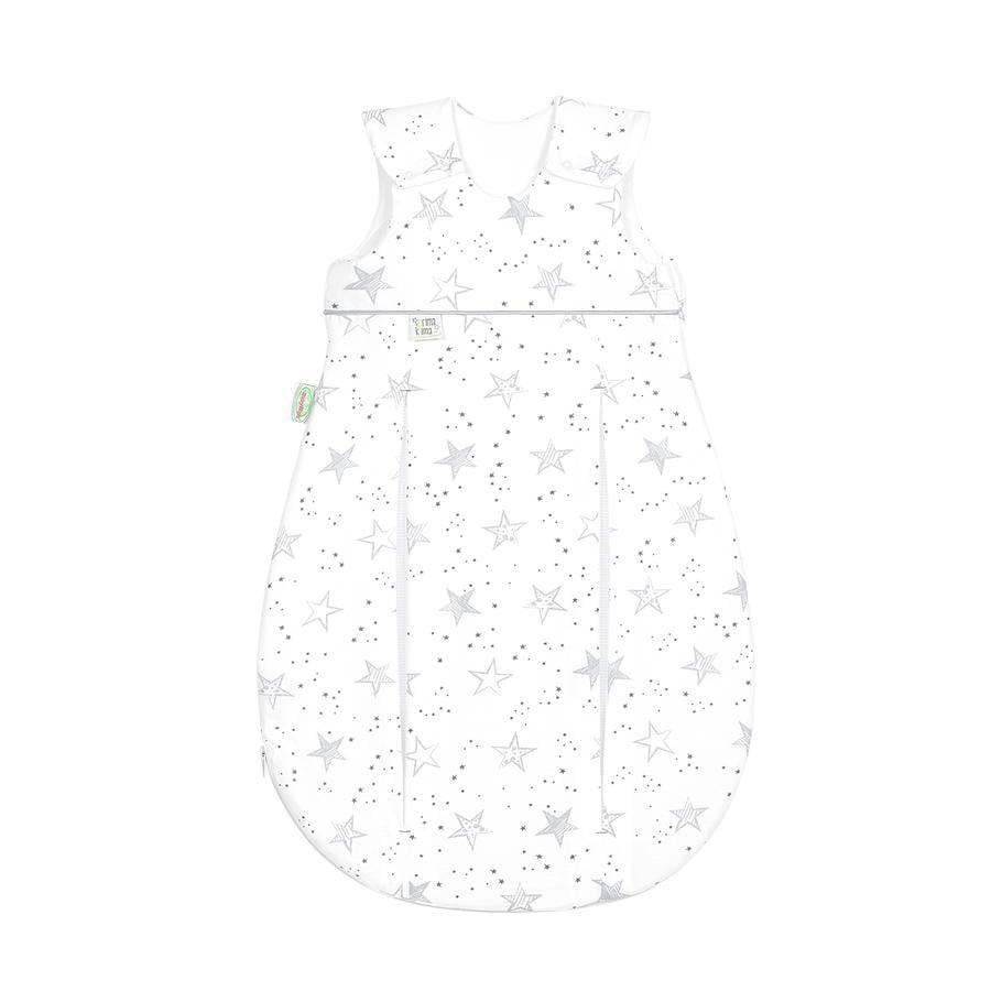 odenwälder Spací pytel Jersey Prima Klima Klikyháky hvězdy šedá 60 cm - 110 cm