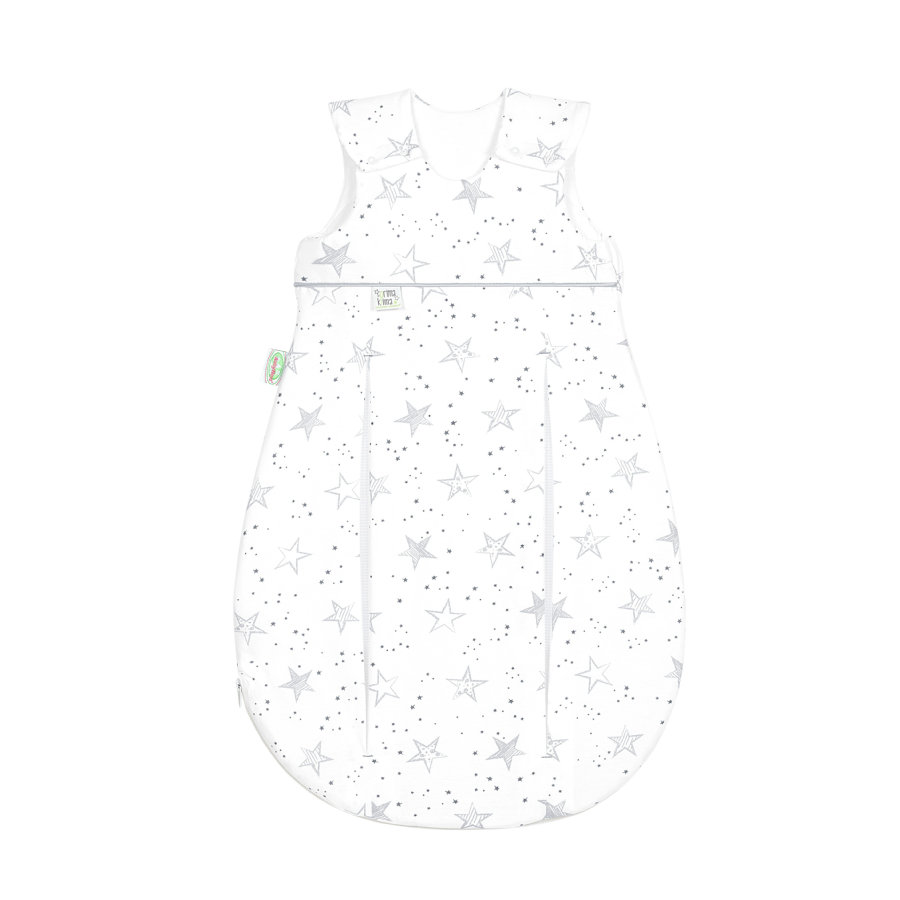 Odenwälder unipussi Jersey Prima Klima 60 - 110 cm, scribble stars grey