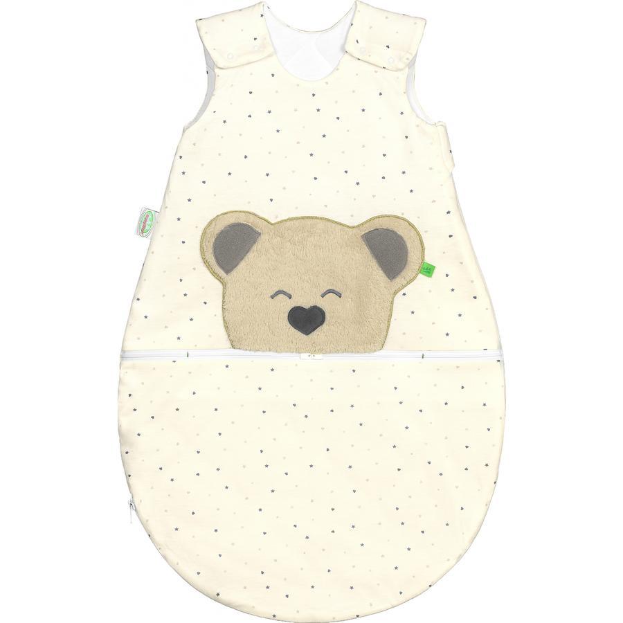 odenwälder Jersey sovepose Mucki®air stjerner grå / hjerte 60 -110 cm