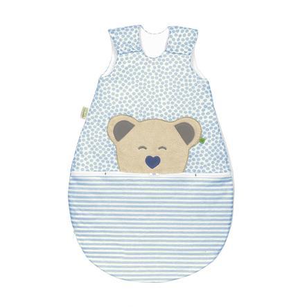 odenwälder Gigoteuse bébé Jersey Mucki® air stripes bleu 60-110 cm