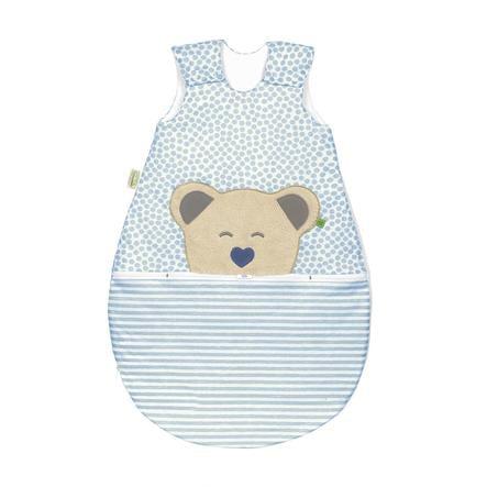 odenwälder Jersey slaapzak Mucki®air stripes bleu 60 cm - 110 cm