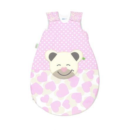 odenwälder Saco de dormir Mucki®air sun smart heart s light rosa 70 cm - 110 cm