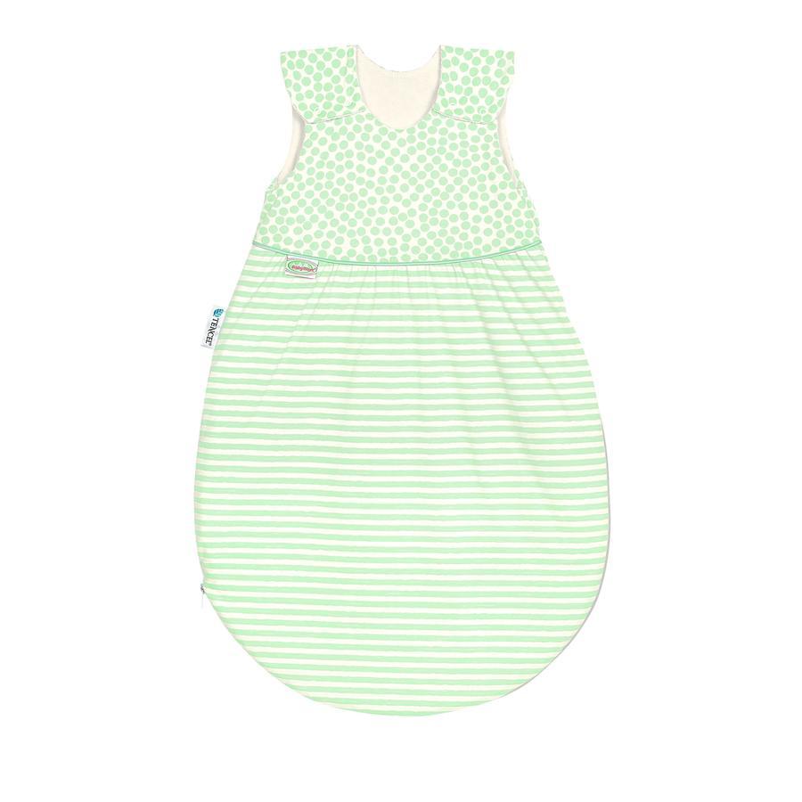 odenwälder Gigoteuse bébé été Klimasoft Cold stripes neon mint 60-110 cm