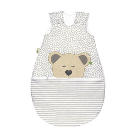 odenwälder Jersey sovepose Mucki®air striber grå 60 cm - 110 cm