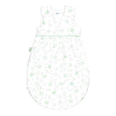 odenwälder Jersey slaapzak Timmi cool scribble stars neon mint 70 cm - 110 cm