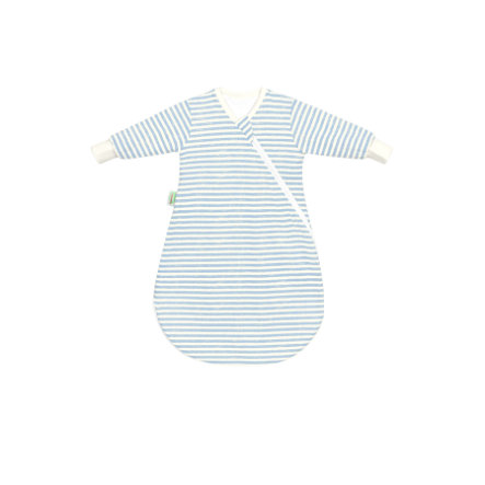 odenwälder Undercover baby nest Jersey stripes blue 50 - 70 cm