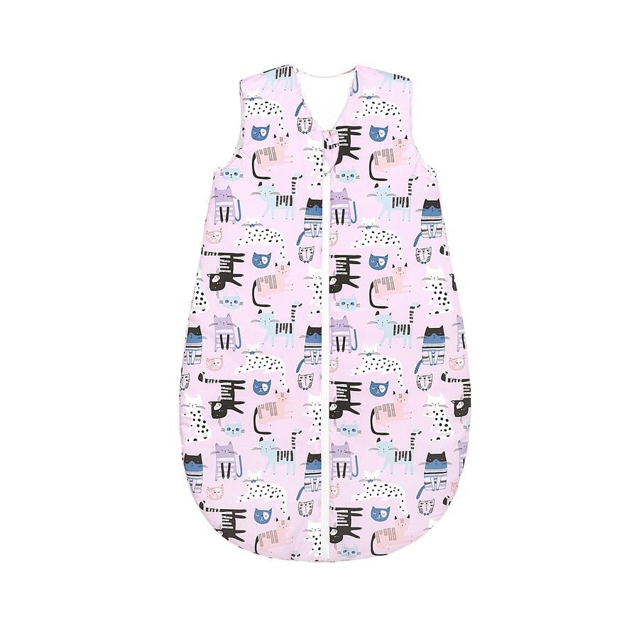 odenwälder sovepose Grunnkatter ganske rosa 70 cm - 110 cm