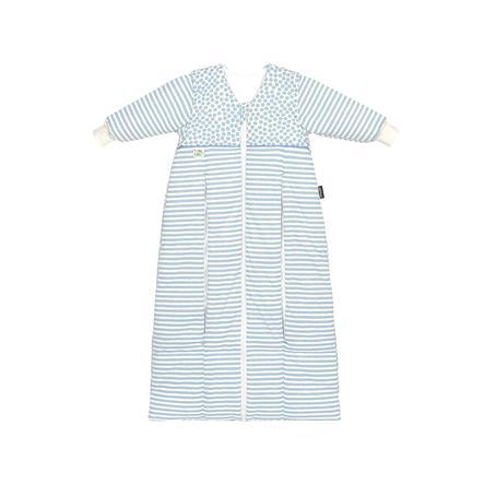 odenwälder saco de dormir Thinsulate Prima Klima stripes bleu 70 cm - 130 cm