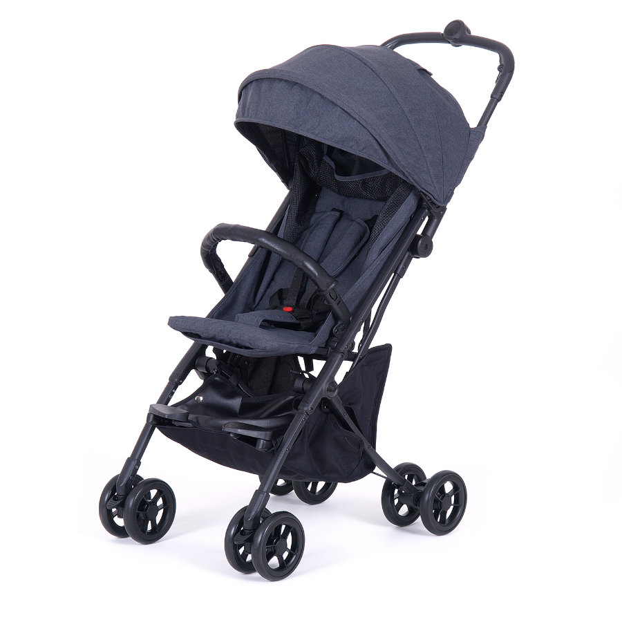 knorr-baby Buggy Travel Easy-Fold Grau Melange