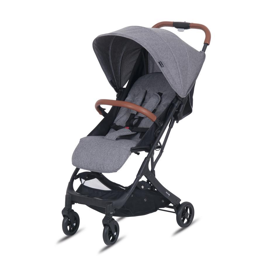 knorr-baby Poussette compacte B-Easy-Fold gris
