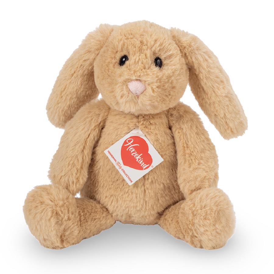 Teddy HERMANN ® Cuore bambino - Coniglietto Anny 23 cm