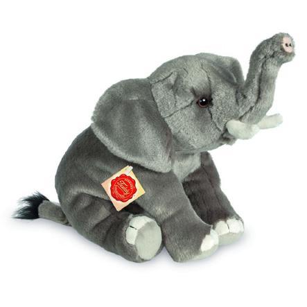 Teddy HERMANN® Peluche éléphant 28 cm