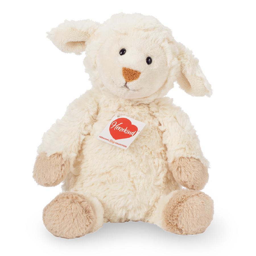 Teddy HERMANN® Peluche agneau Herzekind Maggi 27 cm