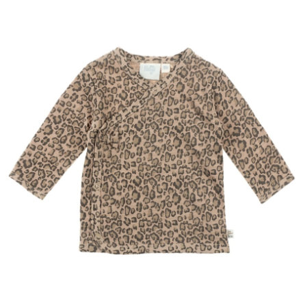 Feetje T-shirt enfant cache-coeur Panther Perfect sable