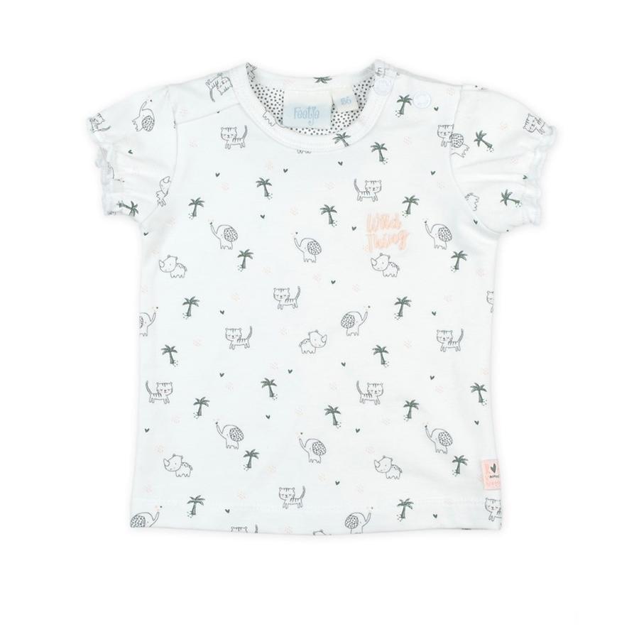 Feetje Camiseta AOP Wild Thing blanca