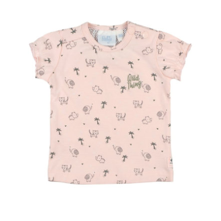 Feetje T-Shirt AOP Wild Thing rosa