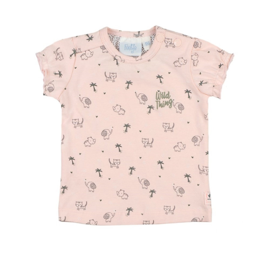 Feetje Camiseta AOP Wild Thing rosa