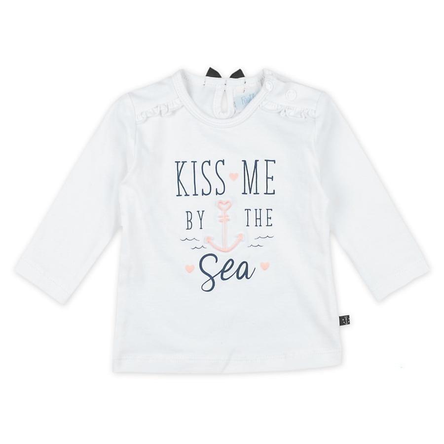 Feetje Longsleeve Kiss Me Sailor Girl wit