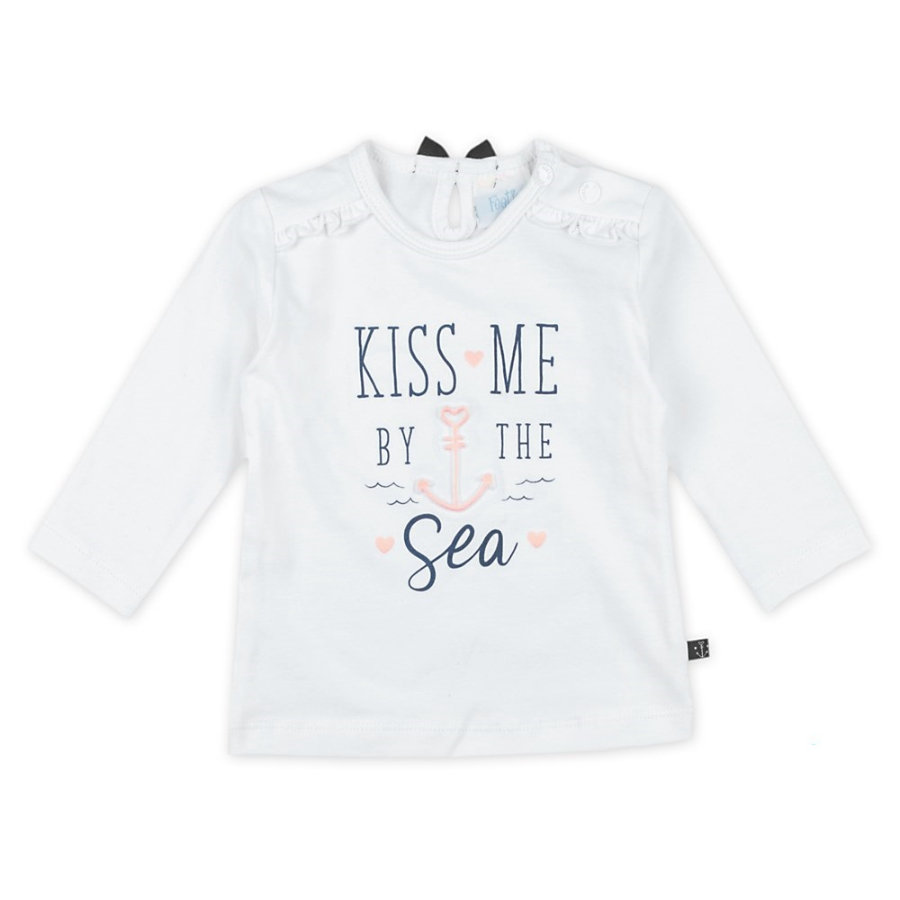 Feetje Manga larga Kiss Me Sailor Girl blanca