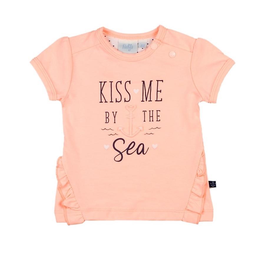 Tričko Feetje Kiss Me Sailor Girl růžové