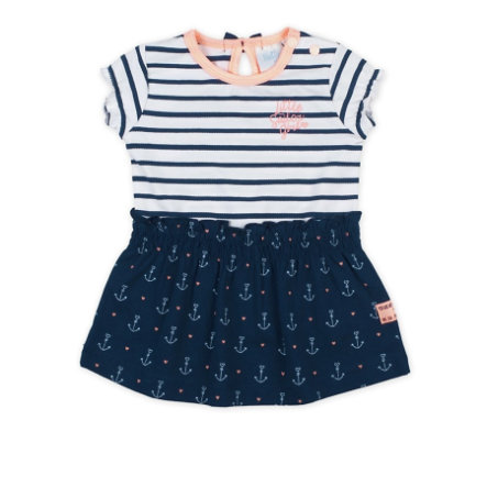 Feetje Robe rayée Sailor Girl marine