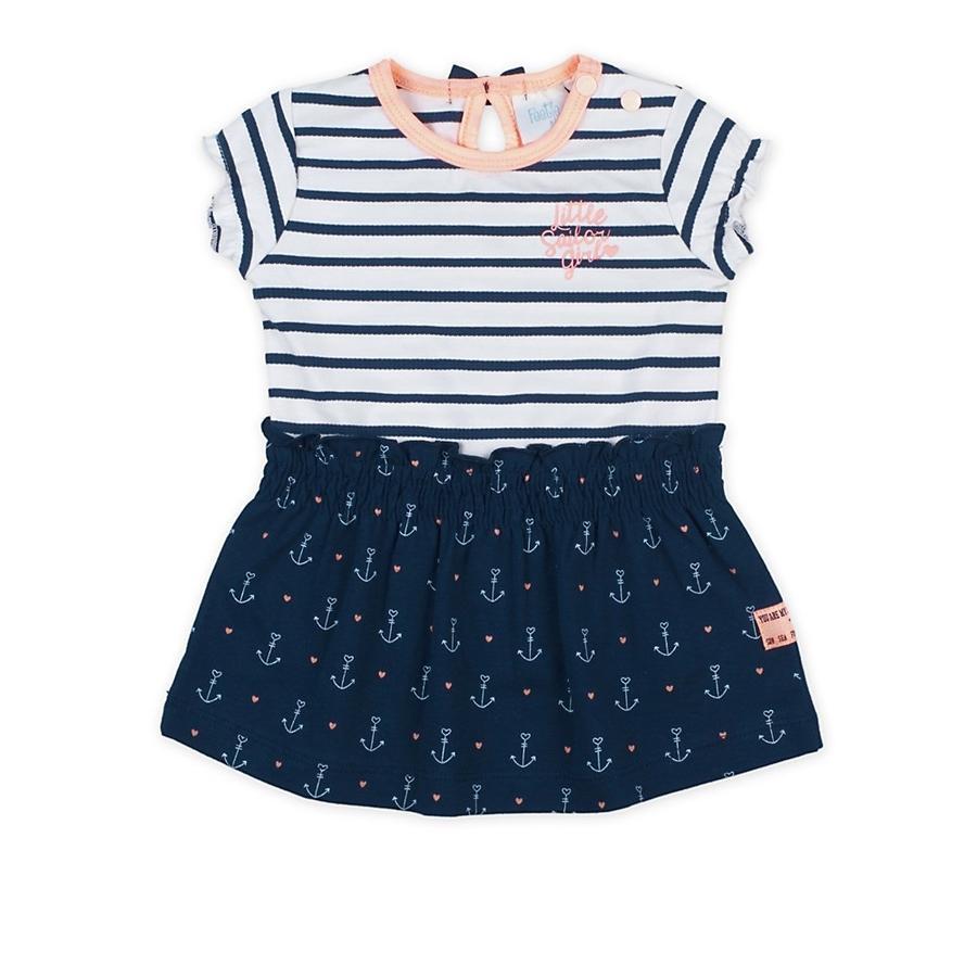 Feetje Dress stripes Sailor Girl marine