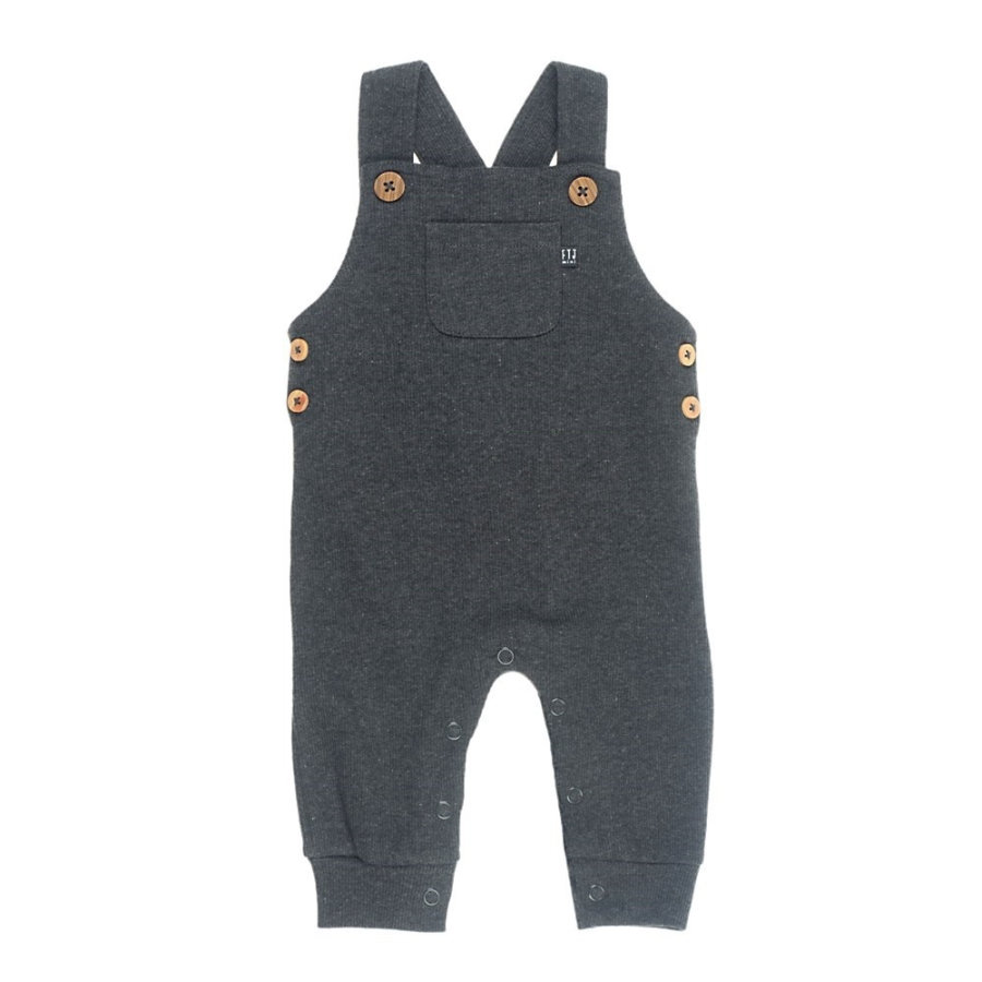 Feetje Dungarees mini person antrasitt-melange